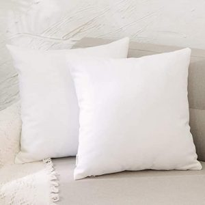 Luxurious 100% White Goose Down Square Euro Pillow